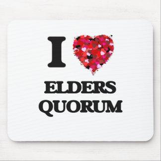 I love Elders Quorum Mouse Pad