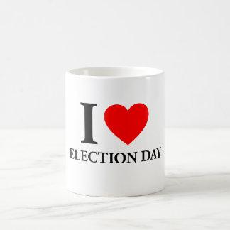I Love Election Day Mugs