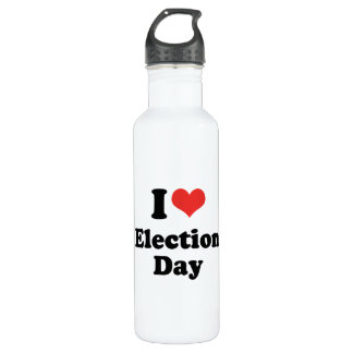 I LOVE ELECTION DAY - .png 710 Ml Water Bottle