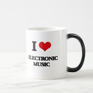 I Love ELECTRONIC MUSIC Coffee Mug