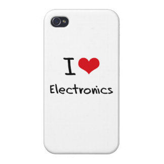 I love Electronics Cases For iPhone 4
