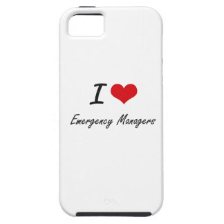 I love Emergency Managers iPhone 5 Cover