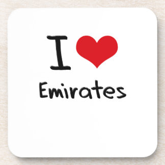 I love Emirates Coasters