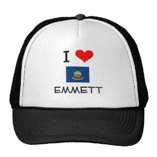 I Love EMMETT Idaho Mesh Hats