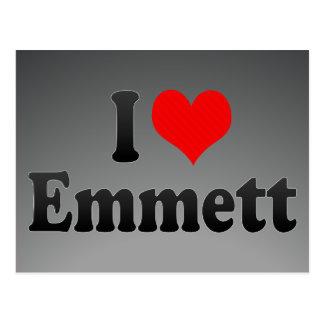 I love Emmett Postcard