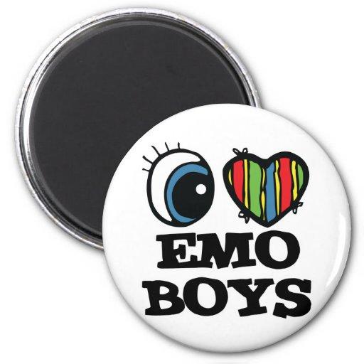 i love emo boys magnets