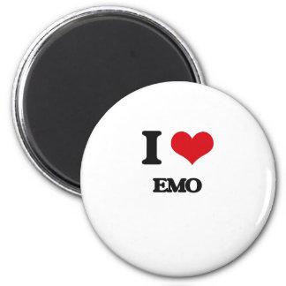 I Love EMO Magnets