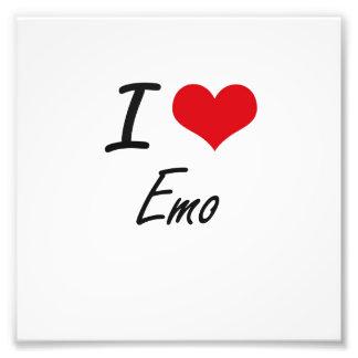 I Love EMO Photograph