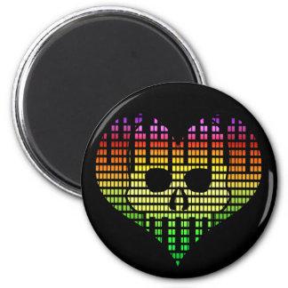 I Love Emo Techno Magnet