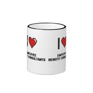 I love Employee Benefit Consultants Ringer Mug