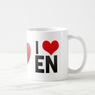 I Love EN Coffee Mug