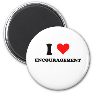 I Love Encouragement Fridge Magnet