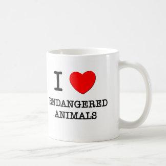 I love Endangered Animals Mug
