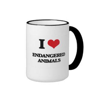 I love ENDANGERED ANIMALS Coffee Mug