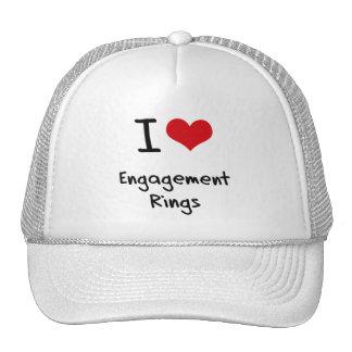 I love Engagement Rings Trucker Hat
