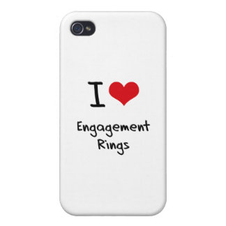 I love Engagement Rings iPhone 4/4S Covers