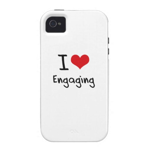 I love Engaging Case-Mate iPhone 4 Case