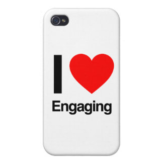 i love engaging iPhone 4/4S case