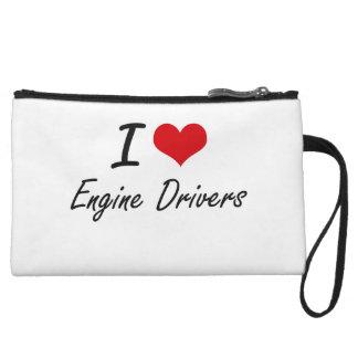 I love Engine Drivers Wristlet Purses