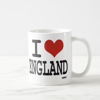 I love England Basic White Mug