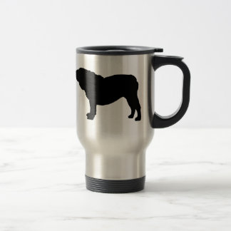 I Love English Bulldogs Travel Mug