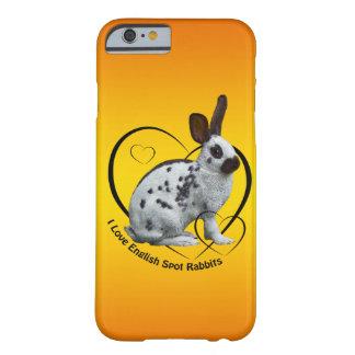 I Love English Rabbits iPhone 6 Case (Sunburst)
