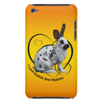 I Love English Rabbits iPod Case (Sunburst)