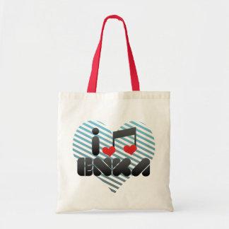 I Love Enka Canvas Bag