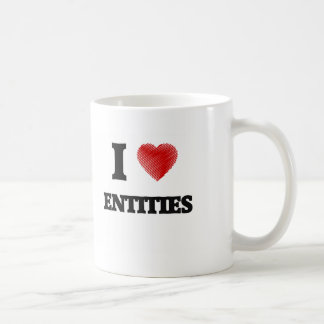 I love ENTITIES Coffee Mug