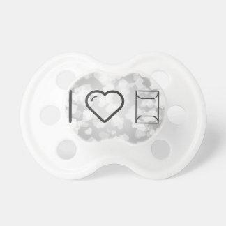 I Love Envelope Offerings Baby Pacifiers