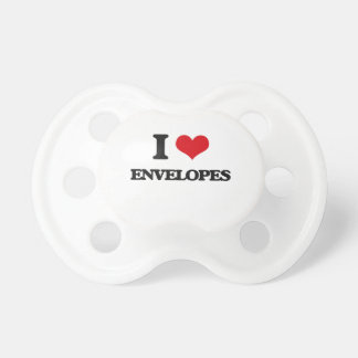 I love ENVELOPES BooginHead Pacifier