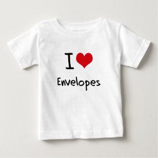 I love Envelopes T Shirts