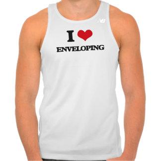 I love ENVELOPING T Shirt