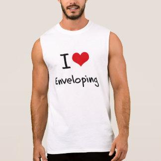 I love Enveloping Sleeveless Shirt