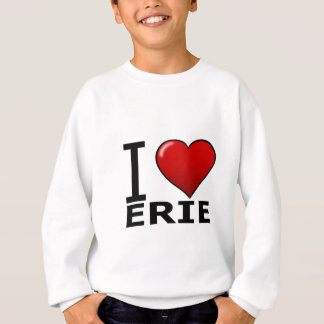 I LOVE ERIE,PA - PENNSYLVANIA SWEATSHIRT