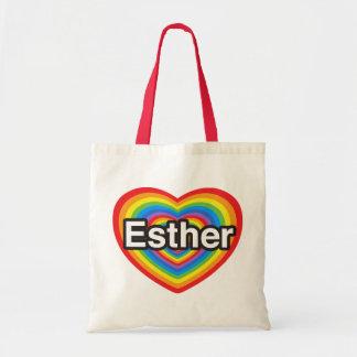 I love Esther. I love you Esther. Heart