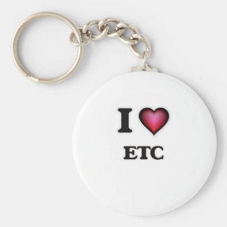 I love ETC Key Ring