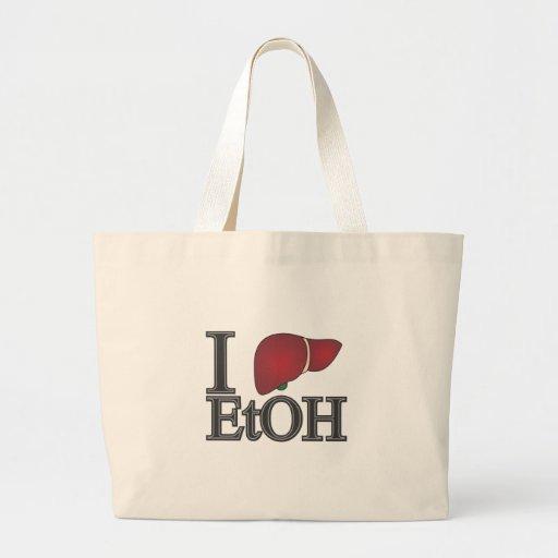 I Love Ethanol Bag