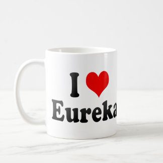 I Love Eureka, United States Coffee Mug