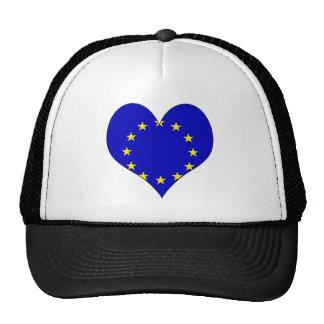 I Love Europa Trucker Hats