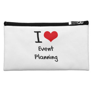 I love Event Planning Cosmetics Bags
