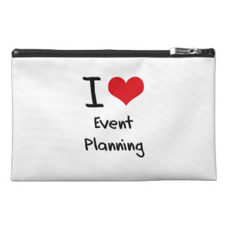 I love Event Planning Travel Accessories Bag