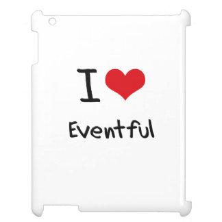 I love Eventful iPad Case