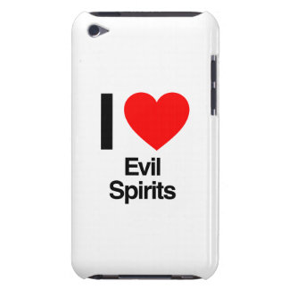 i love evil spirits barely there iPod covers