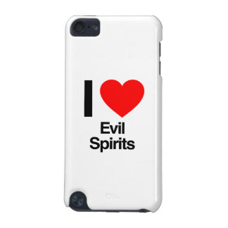 i love evil spirits iPod touch (5th generation) case