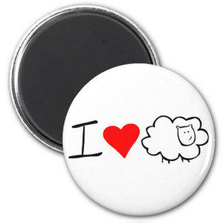 I love ewe (you) magnet