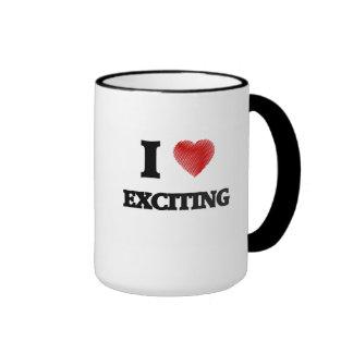 I love EXCITING Ringer Mug