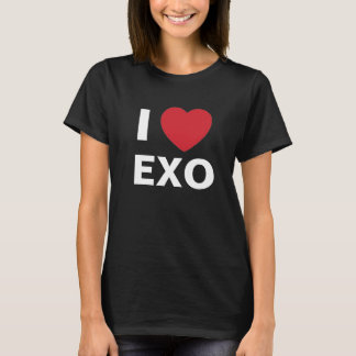 I Love Exo T Shirt (black)