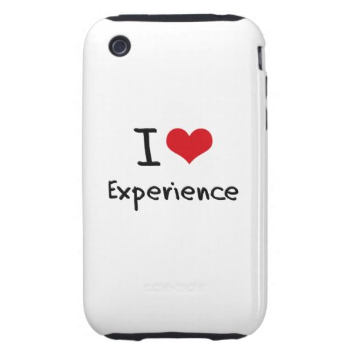 I love Experience iPhone 3 Tough Case