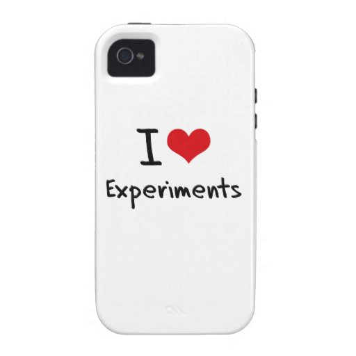 I love Experiments Vibe iPhone 4 Cases